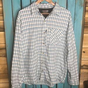 Wrangler Outdoor Regular Fit plaid shirt Large